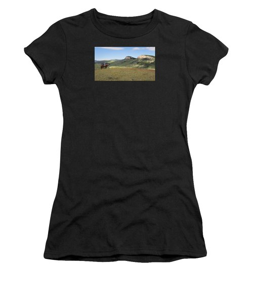 Wyoming Bluffs Women's T-Shirt