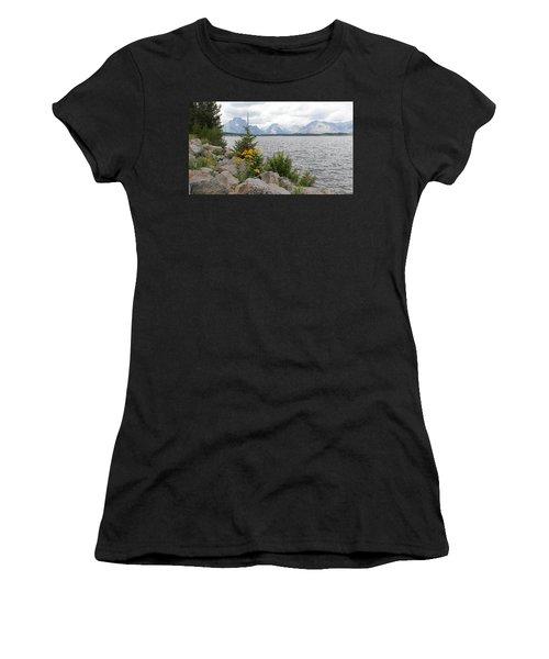 Wyoming Mountains Women's T-Shirt