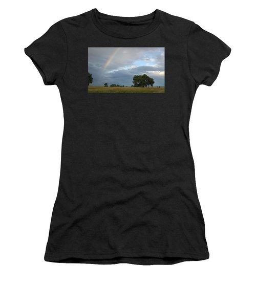 Wyoming Rainbow Women's T-Shirt