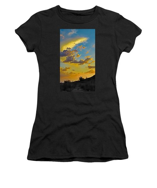 Y Cactus Sunset 10 Women's T-Shirt