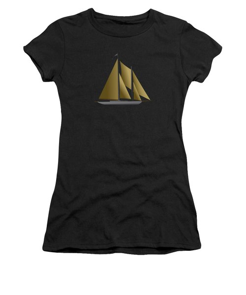 Yacht In Sunlight Women's T-Shirt