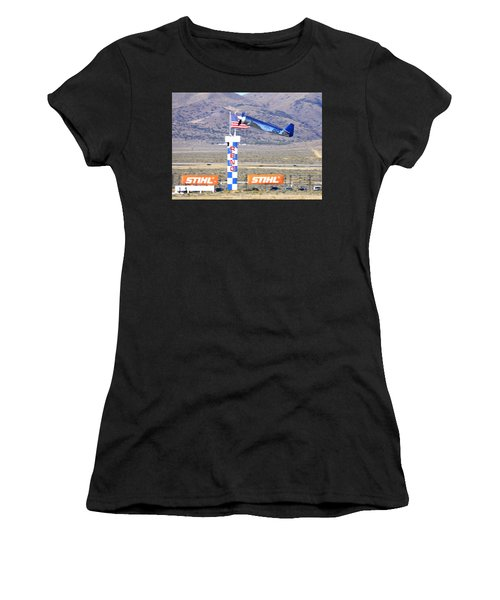 Women's T-Shirt featuring the photograph Yak Attack Sunday's Gold Unlimited Race by John King