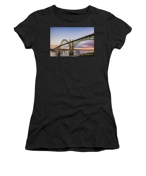 Yaquina Bay Bridge Women's T-Shirt