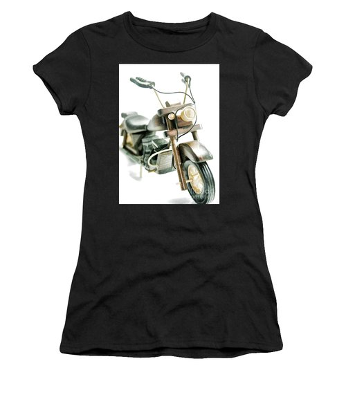 Yard Sale Wooden Toy Motorcycle Women's T-Shirt (Athletic Fit)