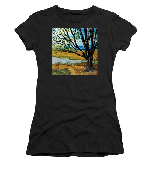 Ye Olde Oak Women's T-Shirt (Athletic Fit)