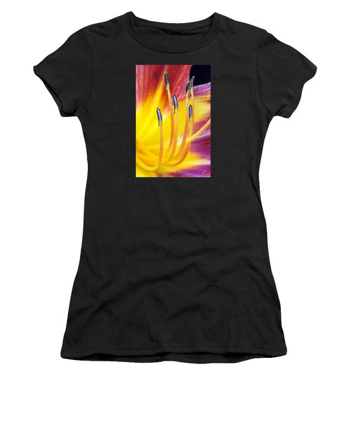 Yellow And Red Women's T-Shirt