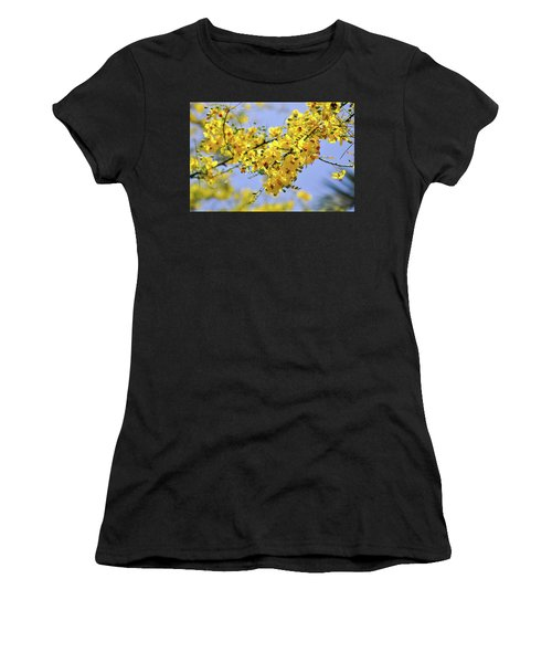 Yellow Blossoms Women's T-Shirt