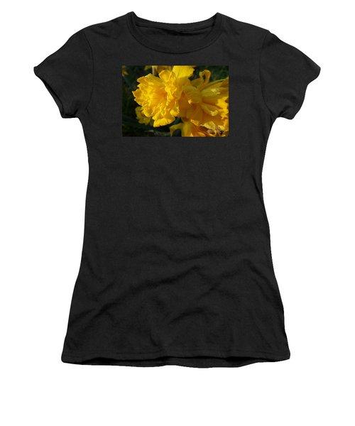 Yellow Daffodils Women's T-Shirt