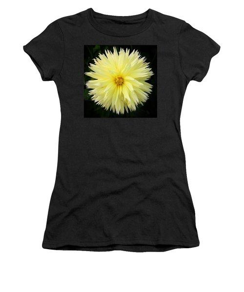 Yellow Dahlia Women's T-Shirt