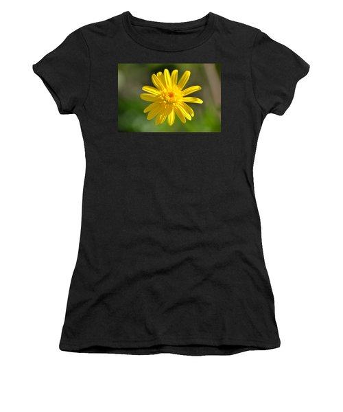 Yellow Fireworks Women's T-Shirt