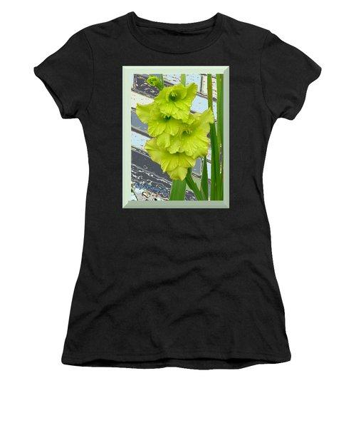 Yellow Gladiolas Women's T-Shirt