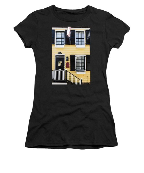 Yellow House Women's T-Shirt (Athletic Fit)