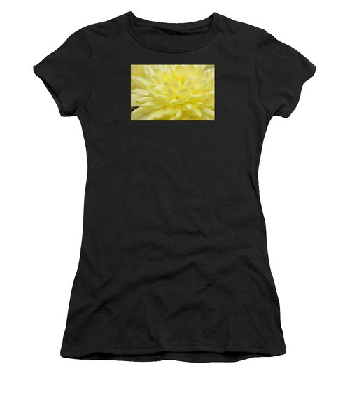 Yellow Mum Women's T-Shirt (Athletic Fit)