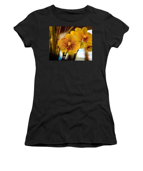 Yellow Orchis Women's T-Shirt