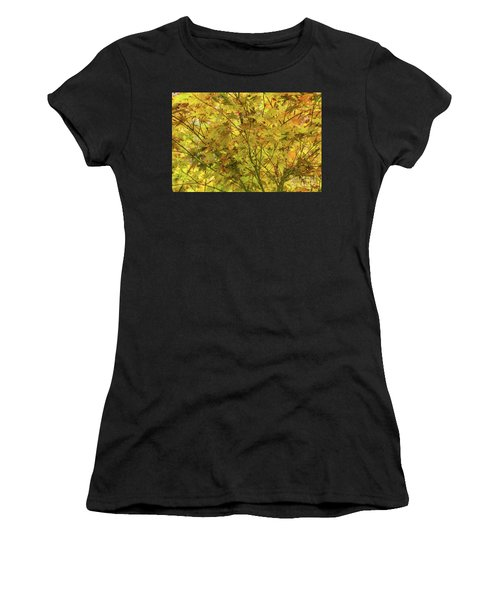 Yellow Spring Women's T-Shirt (Athletic Fit)