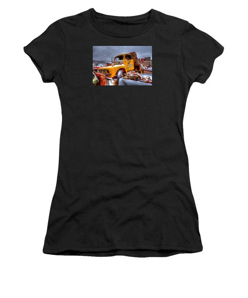 Yellow Truck Women's T-Shirt