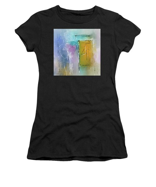 Yellows And Blues Women's T-Shirt
