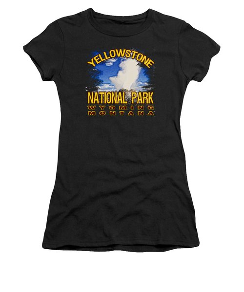 Yellowstone National Park Women's T-Shirt (Athletic Fit)