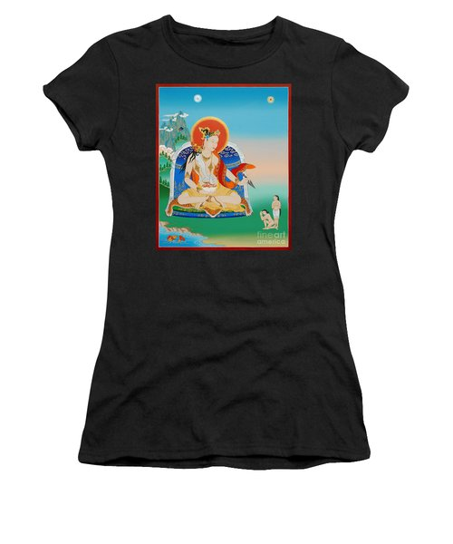 Yeshe Tsogyal Women's T-Shirt (Athletic Fit)