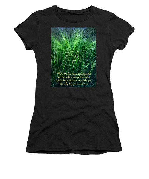 Yesterday And Tomorrow Women's T-Shirt (Athletic Fit)