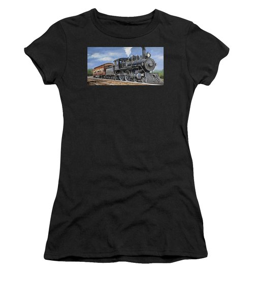 Yesteryear Classic Locomotive Women's T-Shirt