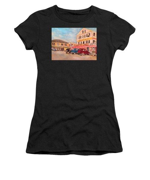 York Beach In Maine Women's T-Shirt