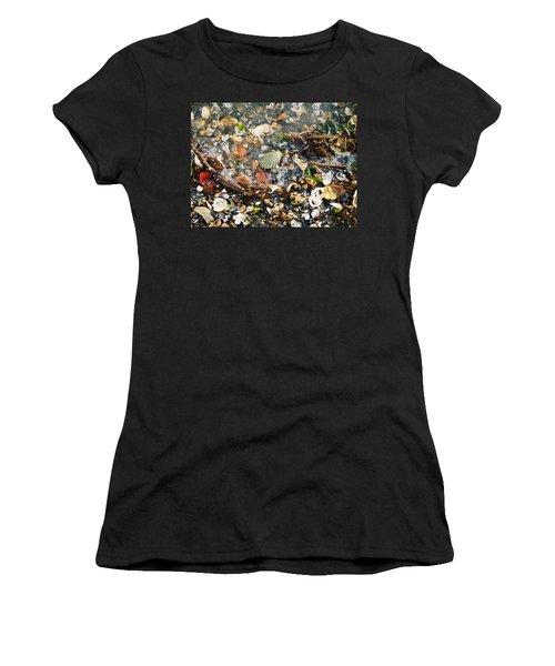 York Beach Shore Women's T-Shirt (Athletic Fit)
