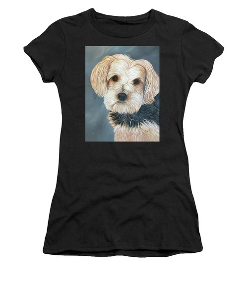 Yorkie Portrait Women's T-Shirt