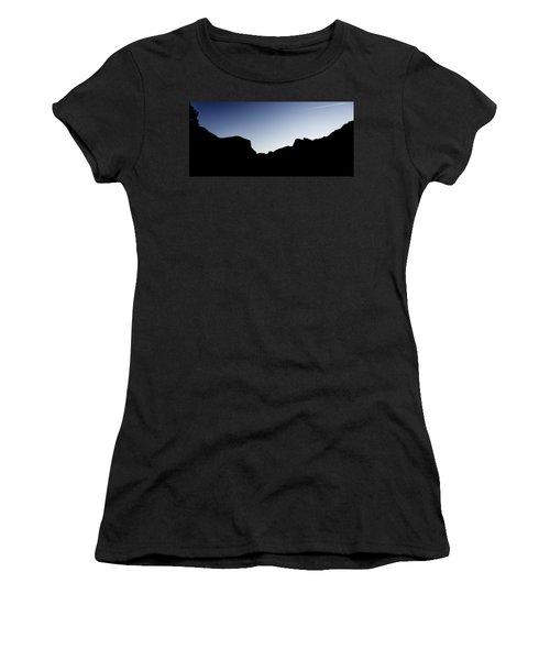 Yosemite In Silhouette Women's T-Shirt