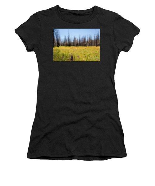 Yosemite Juxtaposition By Michael Tidwell Women's T-Shirt