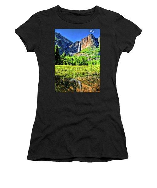 Yosemite National Park Bridalveil Fall Women's T-Shirt