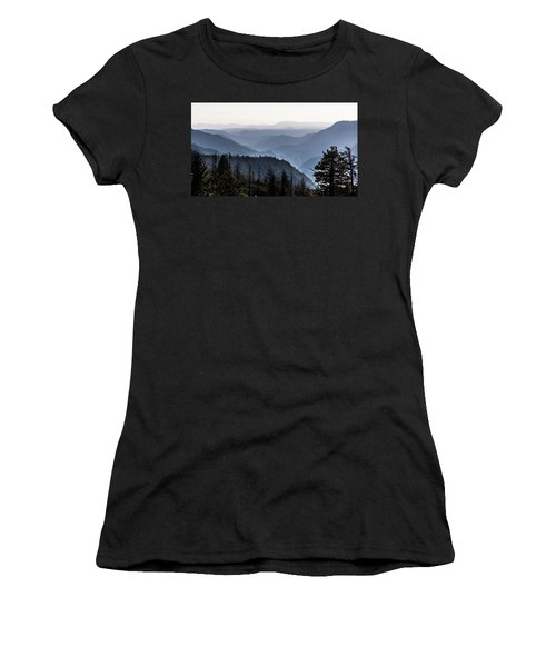 Yosemite View 27 Women's T-Shirt (Junior Cut) by Ryan Weddle