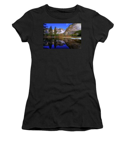 Yosemite Winter Reflections Women's T-Shirt