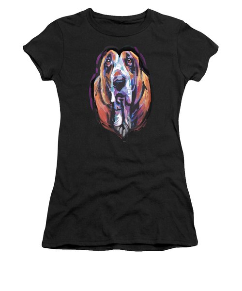 You Are My Basset Hound Heart Women's T-Shirt (Athletic Fit)