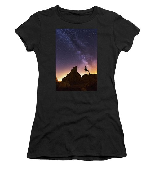 You Cant Take The Sky From Me Women's T-Shirt (Athletic Fit)