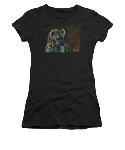You Don't See Me Laughing......hyena Women's T-Shirt