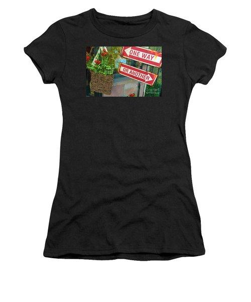 Your Choice Women's T-Shirt (Junior Cut) by Beth Saffer
