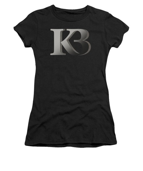 Your Name - K B Monogram 2 Women's T-Shirt