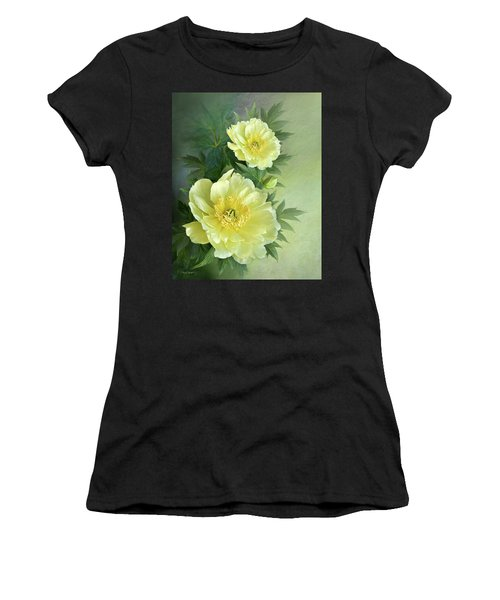 Yumi Itoh Peony Women's T-Shirt (Athletic Fit)