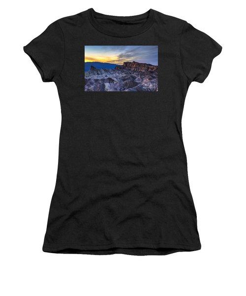 Zabriskie Point Sunset Women's T-Shirt