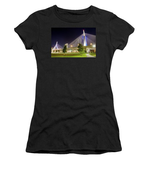 Zakim Bridge Women's T-Shirt (Athletic Fit)
