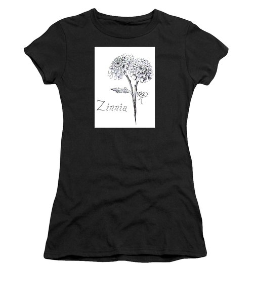 Zannie Zinnia Women's T-Shirt