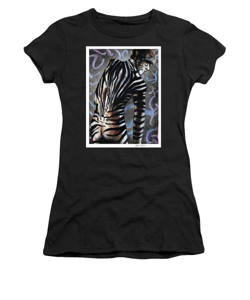 Zebra Boy At Dawn Women's T-Shirt