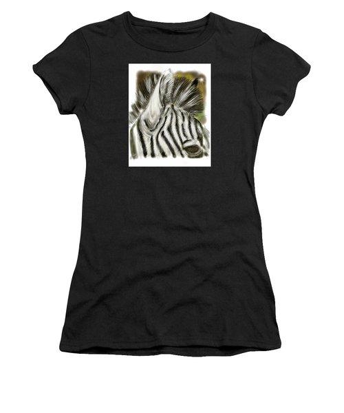 Zebra Digital Women's T-Shirt