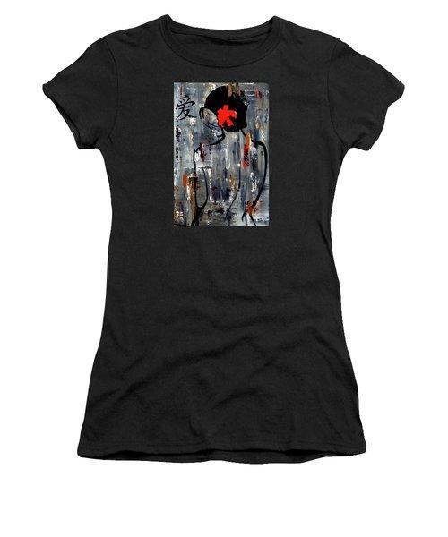 Zen Bath Women's T-Shirt (Athletic Fit)