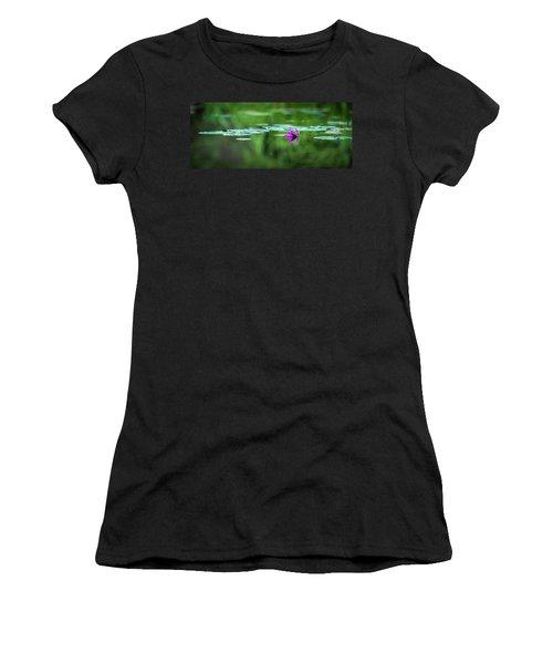 Zen Blossom Women's T-Shirt (Athletic Fit)
