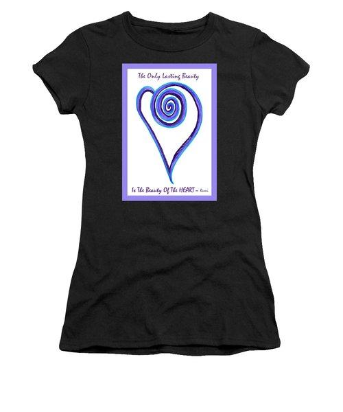Zen Heart Off Balance Women's T-Shirt (Athletic Fit)