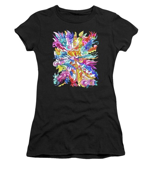Zentangle-off The Cuff Women's T-Shirt (Athletic Fit)