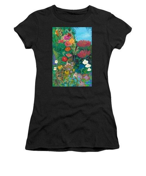 Zinnias Garden Women's T-Shirt