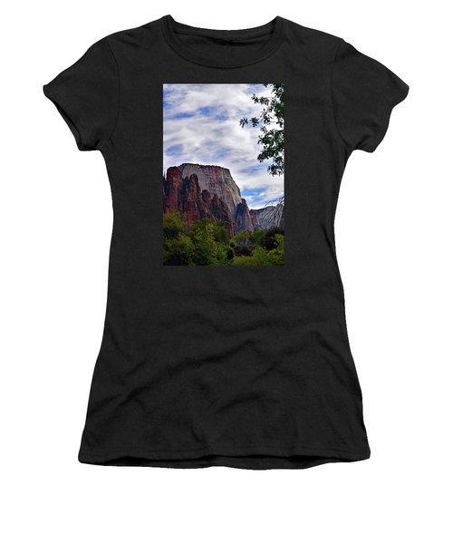 Zion No. 5-1 Women's T-Shirt (Athletic Fit)